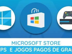 Apps e Jogos pagos grátis na Microsoft Store