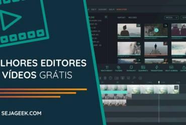 melhores editores de vídeo grátis