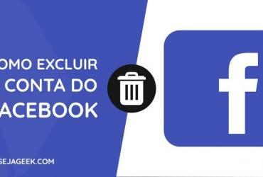 Como excluir a conta do Facebook