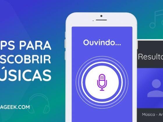 apps para descobrir musicas