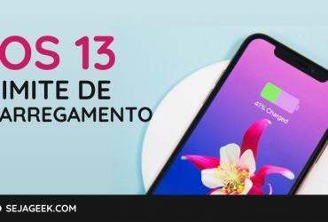 ios 13 limit charging