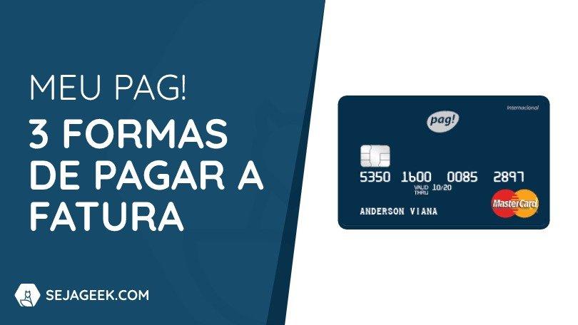 Como pagar a fatura do Cartão de Crédito Meu Pag
