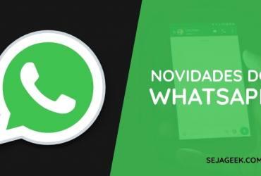 WhatsApp do Facebook Novo nome e Bloqueio por Impressão Digital