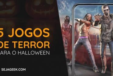 5 Jogos de Terror para curtir o Halloween