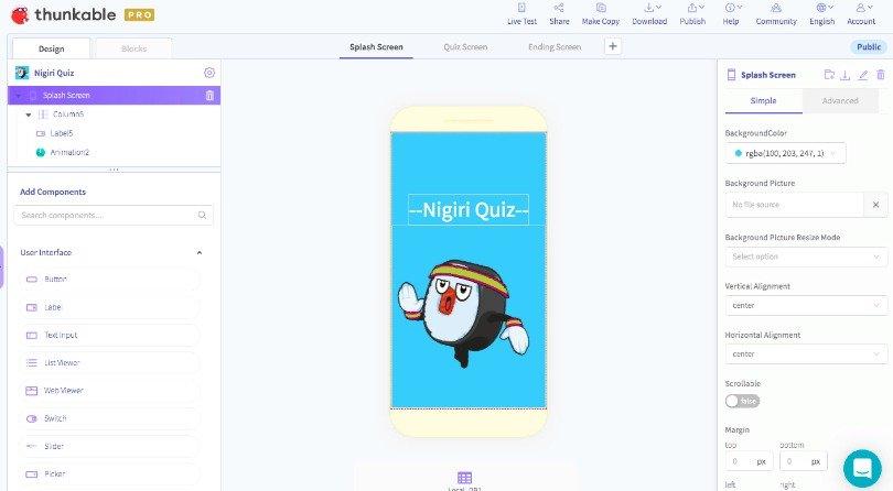 Thunkable App Builder