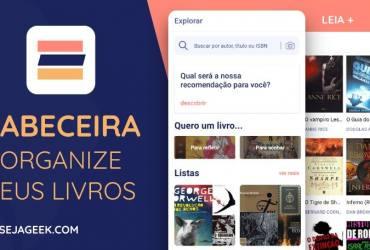 App Cabeceira Organize seus livros e leia mais