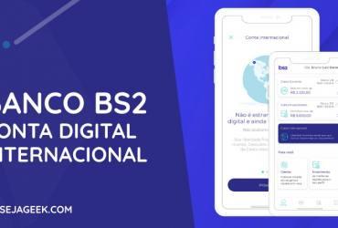 Conta Internacional do Banco BS2
