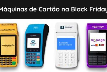 Máquinas de Cartão na Black Friday