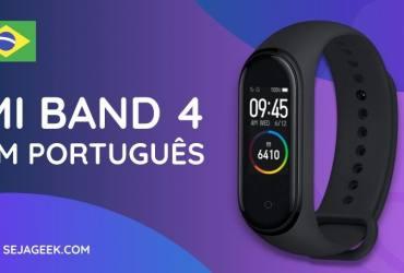 Mi Band 4 recebe atualização em Português