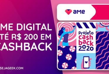 Ame Digital Projeto Cashback 2020