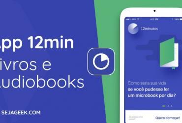 App 12min Livros e Audiobooks
