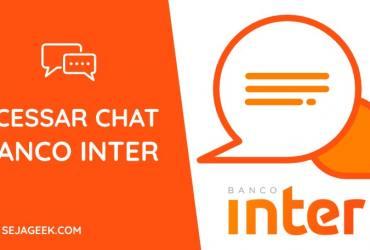 Banco Inter Chat e Central de Ajuda