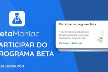 Beta Maniac Participar do programa Beta dos Apps