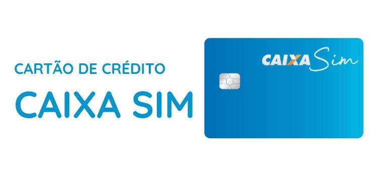 Cartão de Crédito Caixa SIM