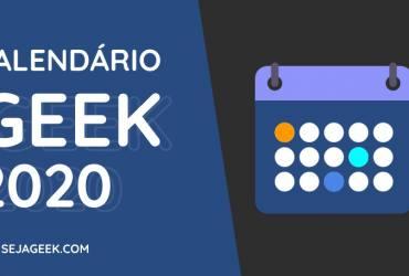 Calendário Geek 2020