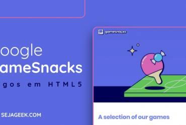 Google lança GameSnacks com jogos online