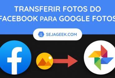 Como salvar fotos do Facebook no Google Fotos
