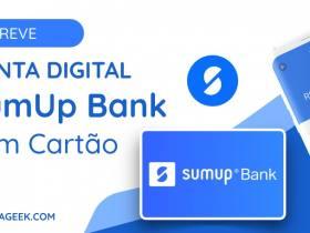 Nova Conta Digital SumUp Bank em breve