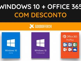 Windows 10 e Office 365 com desconto